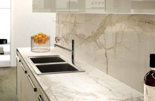Gres porcelain tile 5,5 mm tickness Calacatta oro marble  60x120