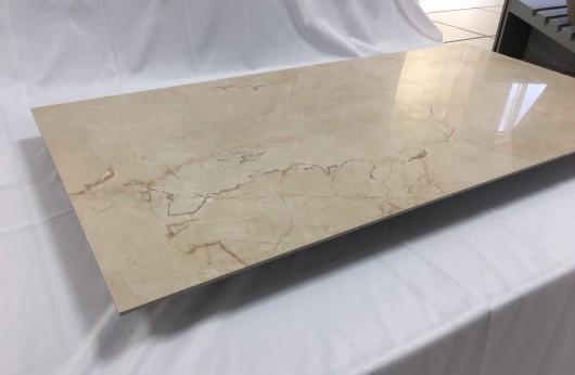 Porcelain gres tile 3,5 mm thickness Crema beige 1°choice 60x120 cm