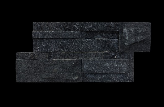 Natural stone Black Quartzite.