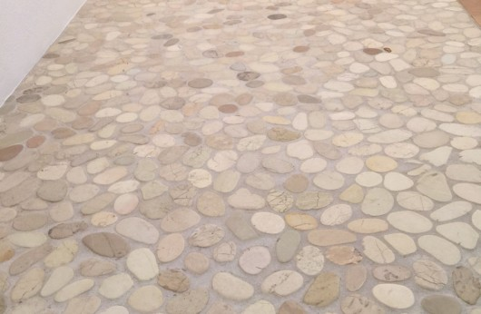 natural stone white-beige mosaic