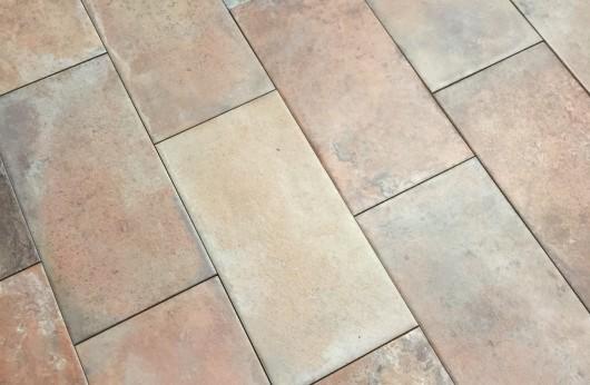 floor terracotta effect tavella 15x30 matt R9