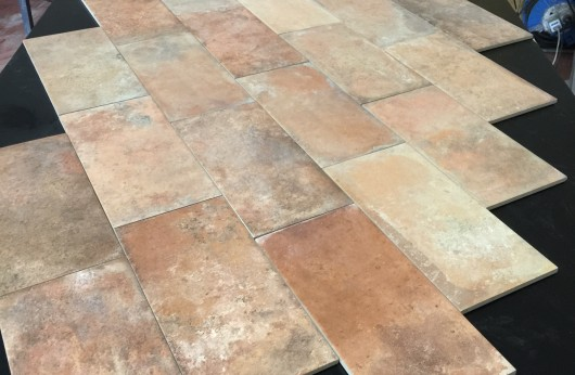 floor terracotta effect tavella 15x30 matt R9