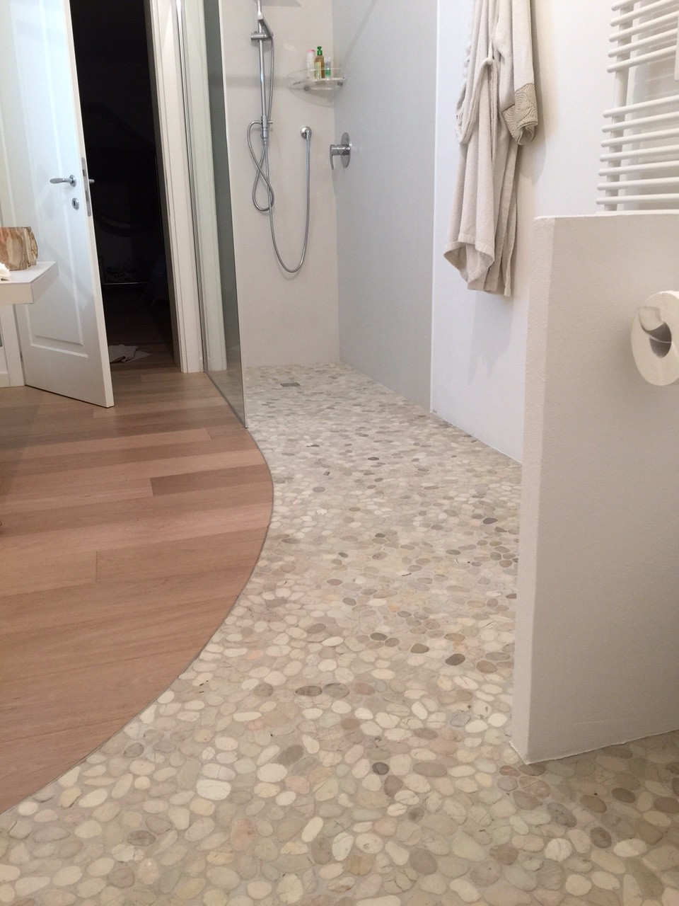 natural stone white-beige mosaic